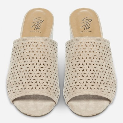 So All Sandaletit - Beige,Beige 319930 feetfirst.fi