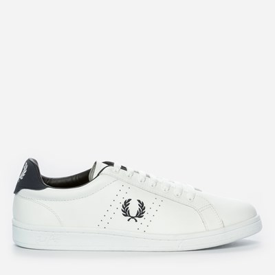 Fred Perry Parkside Leather - Valkoinen 298480 feetfirst.fi