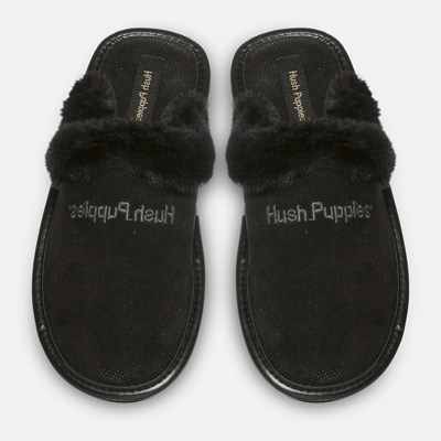 Hush Puppies Isabelle Slip-In - Musta 303294 feetfirst.fi