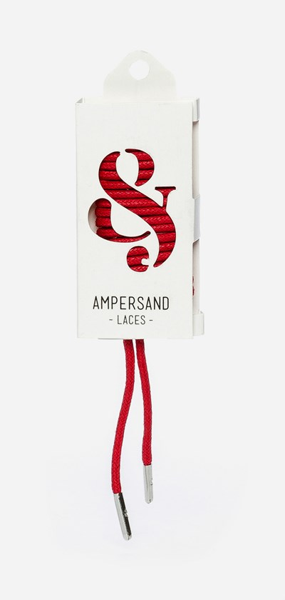 Ampersand 75 Cm Ampersand Lace Metal - Punainen 304047 feetfirst.fi