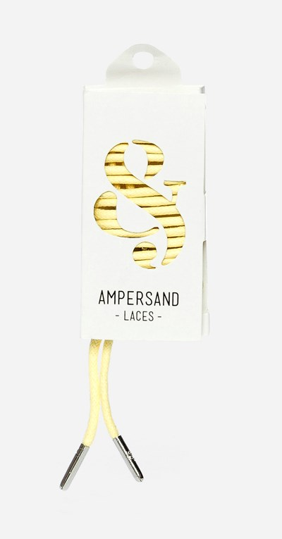 Ampersand 75 Cm Ampersand Lace Metal - Keltainen 304048 feetfirst.fi