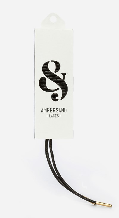 Ampersand 120 Cm Ampersand Lace Metal - Musta 304050 feetfirst.fi