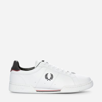 Fred Perry Woodspring - Valkoinen 307861 feetfirst.fi