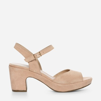 Wonders Plain Low Sandal - Roosa 307959 feetfirst.fi