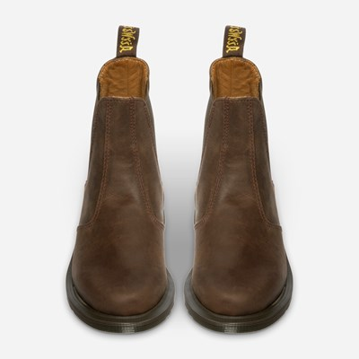 Dr Martens Laura Chelsea Boot - Ruskea 318740 feetfirst.fi