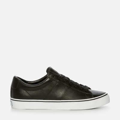 Polo Ralph Lauren Sayer Leather - Musta 319354 feetfirst.fi