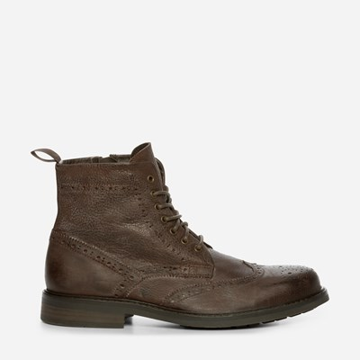 Playboy Rugged Brogue Lace-Up - Ruskea,Ruskea 321162 feetfirst.fi