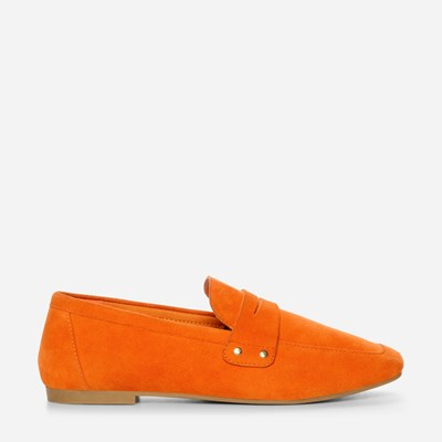 Depeche Lucy Loafer - Oranssi,Musta 322145 feetfirst.fi