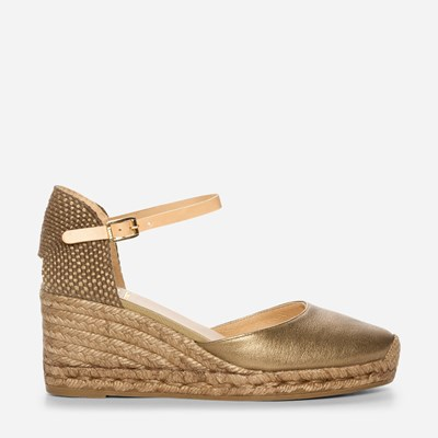 Kanna Laura Wedge - Metalli 325382 feetfirst.fi